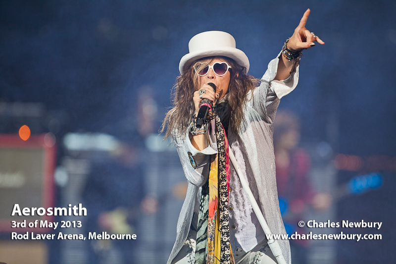 Aerosmith - Rod Laver Arena, Melbourne | 3rd of May 2013