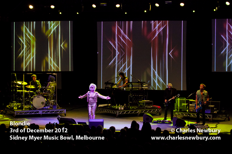 Blondie - Sidney Myer Music Bowl, Melbourne | 3rd of December 2012