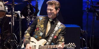 Chris Isaak - Sidney Myer Music Bowl, Melbourne | 23rd of March 2013