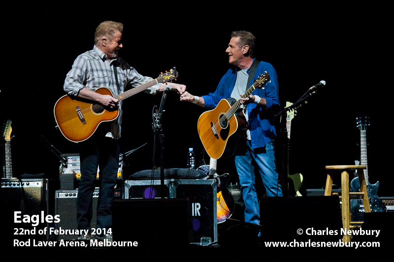 Eagles - Rod Laver Arena, Melbourne | 22nd of February 2015