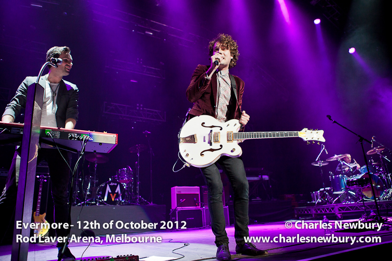 Evermore - Rod Laver Arena, Melbourne | 12th of October 2012