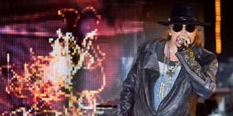 Guns N' Roses - Sidney Myer Music Bowl, Melbourne | 16th of March 2013