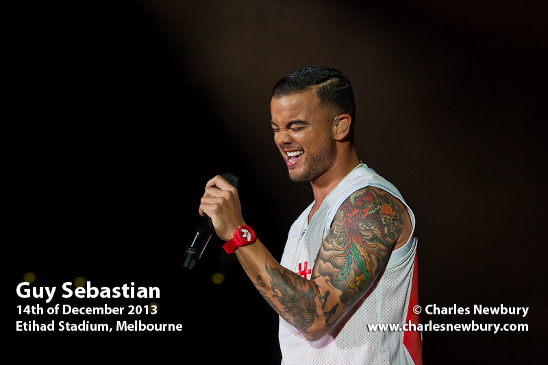 Guy Sebastian - Etihad Stadium, Melbourne | 14th of December 2013