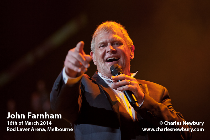 John Farnham - Rod Laver Arena, Melbourne | 16th of March 2014