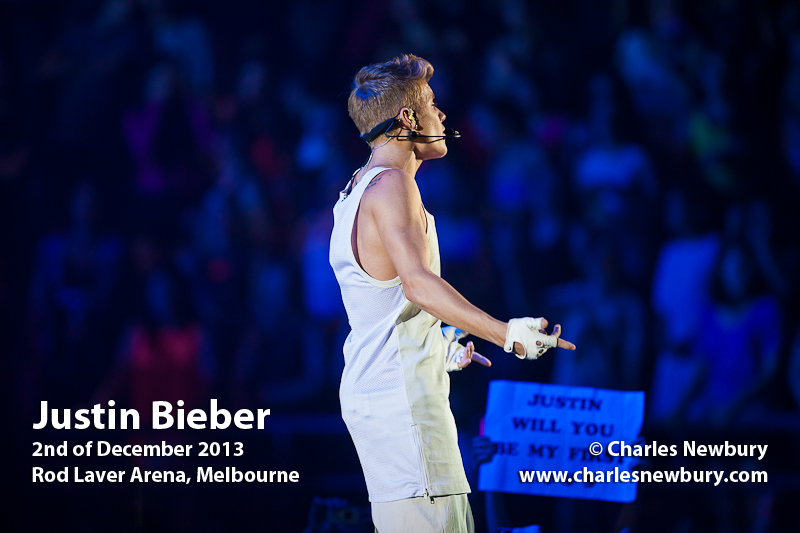 Justin Bieber - Rod Laver Arena, Melbourne | 2nd of December 2013