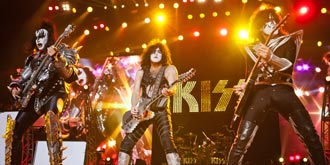 KISS - Etihad Stadium, Melbourne | 6th of March 2013