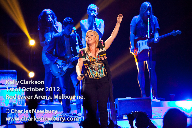 Kelly Clarkson - Rod Laver Arena in Melbourne | 1st of October 2012