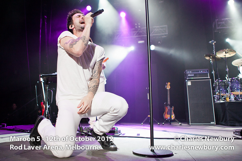 Maroon 5 - Rod Laver Arena, Melbourne | 12th of October 2012