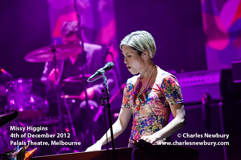Missy Higgins - Palais Theatre, Melbourne | 4th of December 2012