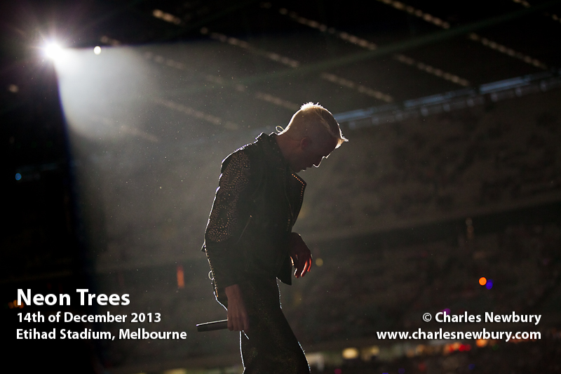 Neon Trees - Etihad Stadium, Melbourne | 14th of December 2013