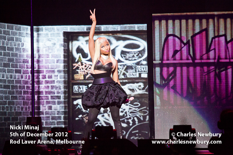 Nicki Minaj - Rod Laver Arena, Melbourne | 5th of December 2012