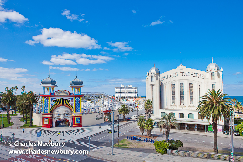 Palais Theatre - An Inside Look by Charles Newbury.