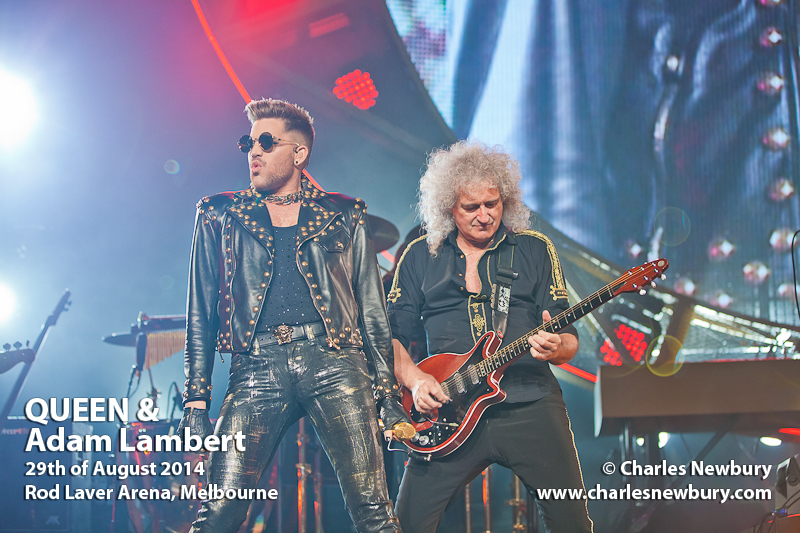 Queen with Adam Lambert - Rod Laver Arena, Melbourne | 29th of August 2014