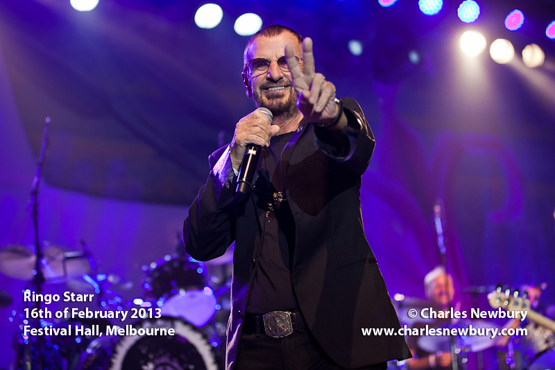 Ringo Starr - Festival Hall, Melbourne | 16th of February 2013