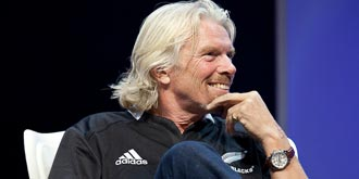 Sir Richard Branson - Hisense Arena in Melbourne, Australia | 22nd of October 2011