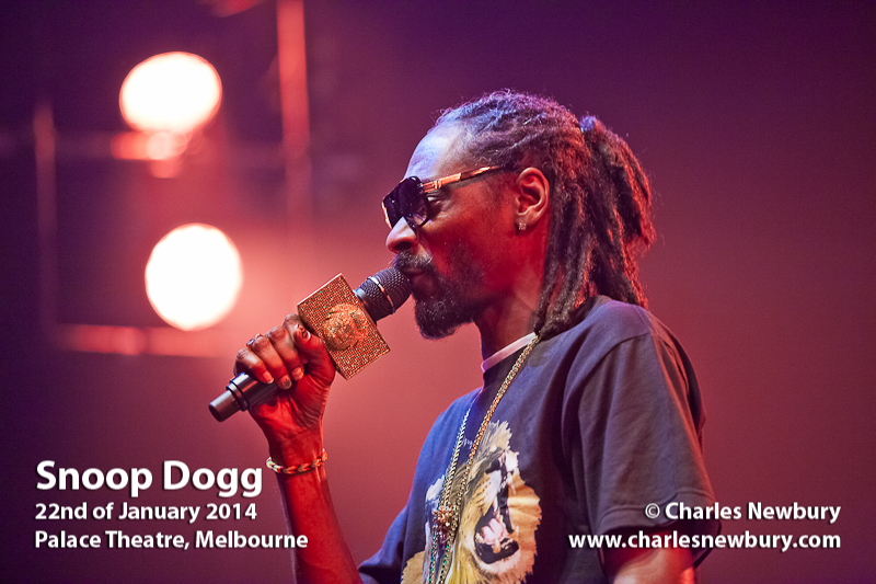 Snoop Dogg - Palace Theatre, Melbourne | 22nd of January 2014