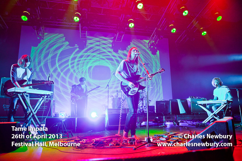Tame Impala - Festival Hall, Melbourne | 26th of April 2013