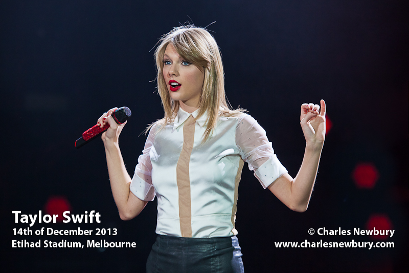 Taylor Swift - Etihad Stadium, Melbourne | 14th of December 2013
