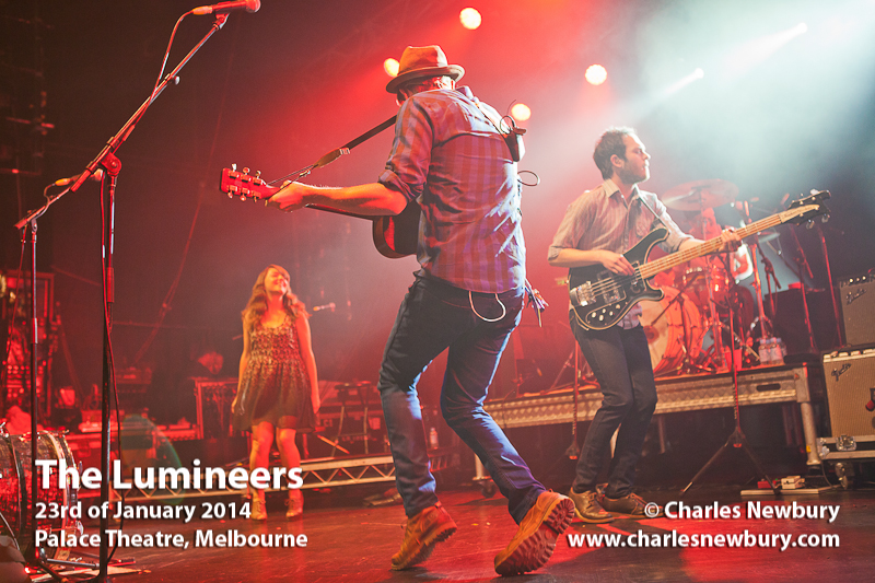 The Lumineers - Palace Theatre, Melbourne | 23rd of January 2014