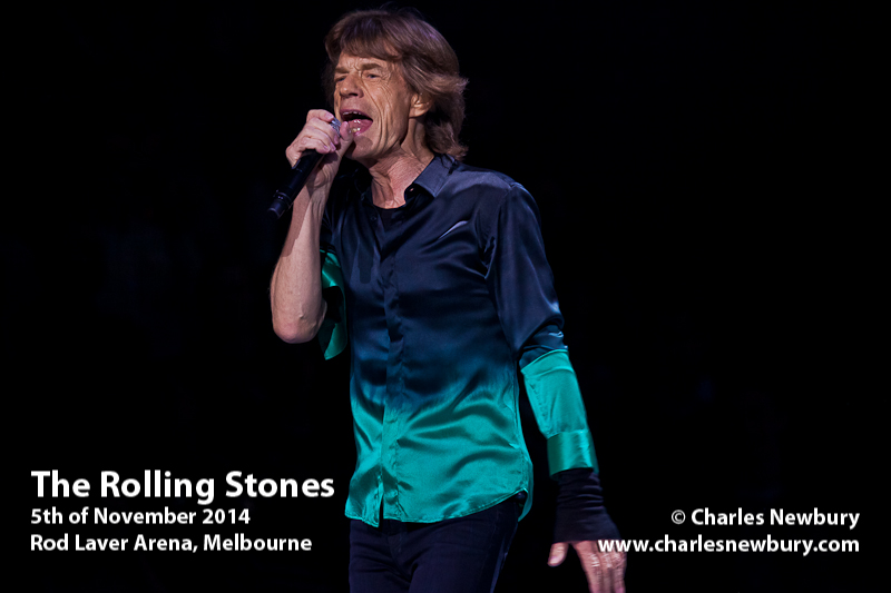 The Rolling Stones - Rod Laver Arena, Melbourne | 5th of November 2014