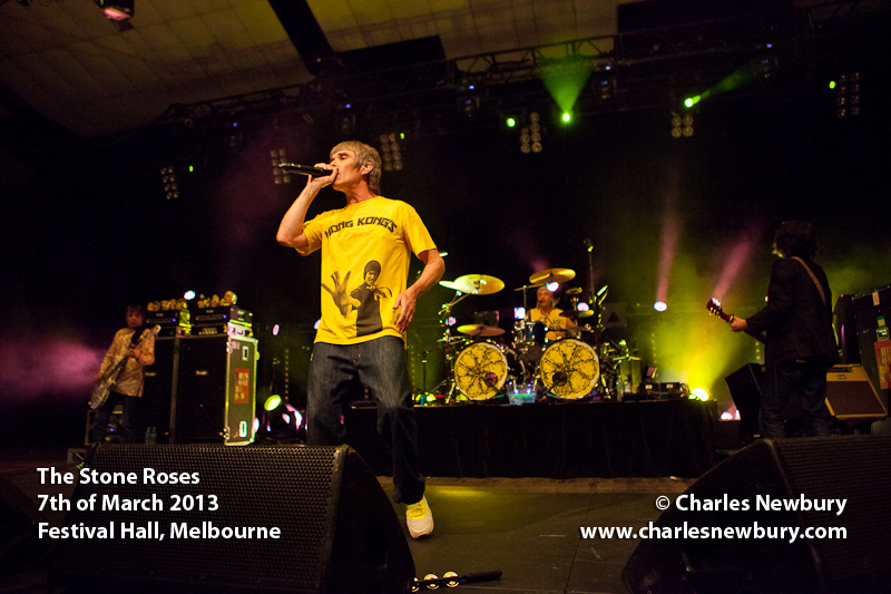 The Stone Roses - Festival Hall in Melbourne | 7th of March 2013