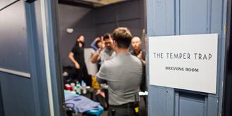 The Temper Trap (Backstage) - Festival Hall, Melbourne | 24th of April 2013