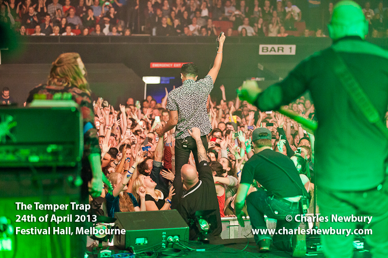 The Temper Trap - Festival Hall, Melbourne | 24th of April 2013