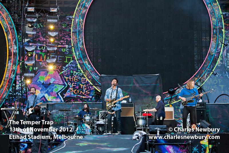 The Temper Trap - Etihad Stadium, Melbourne | 13th of November 2012