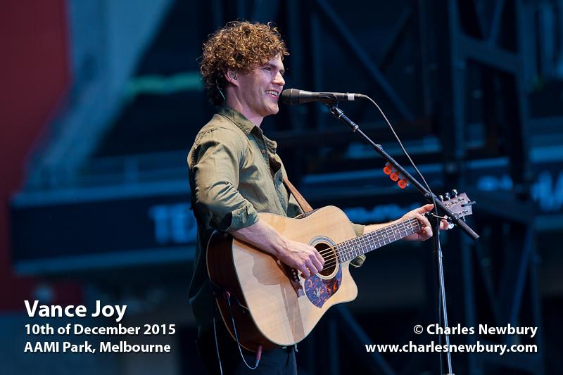 Vance Joy - AAMI Park, Melbourne | 10th of December 2015