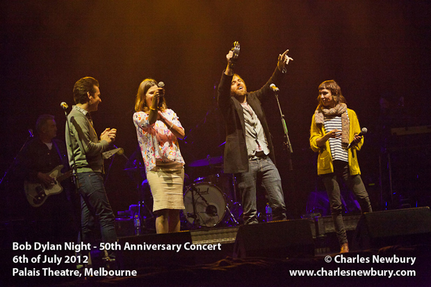 Bob Dylan Night - 50th Anniversary Concert at The Palais Theatre in Melbourne (Soundcheck) | 6th of July 2012