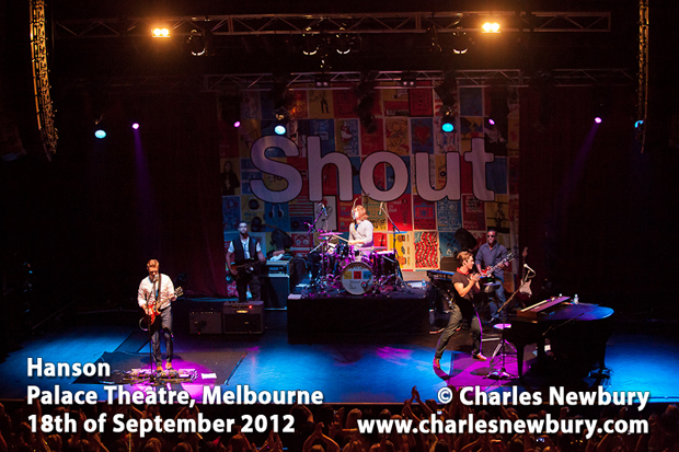 Hanson - Palace Theatre in Melbourne | 18th of September 2012