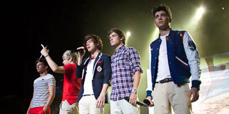 One Direction - Hisense Arena in Melbourne | 16th of April 2012