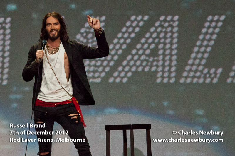 Russell Brand - Rod Laver Arena, Melbourne | 7th of December 2012