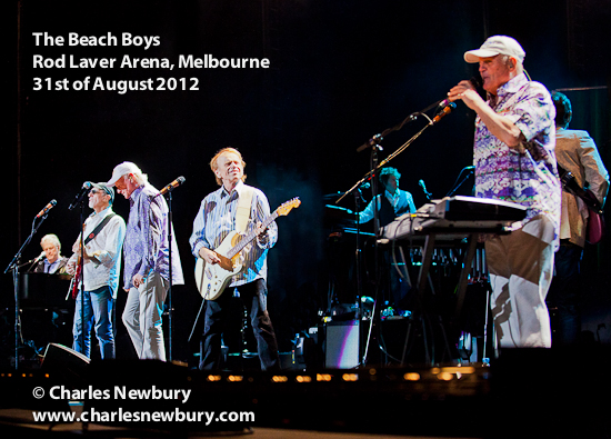The Beach Boys - Rod Laver Arena in Melbourne | 31st of August 2012