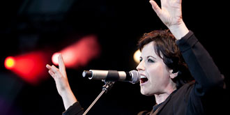 The Cranberries - Sidney Myer Music Bowl in Melbourne | 17th of March 2012